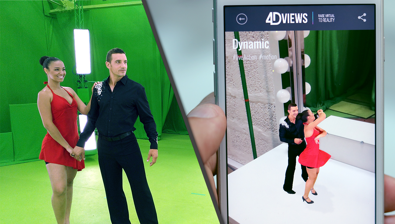 4DViews - volumetric video technology for streaming real people to Virtual reality